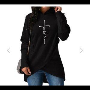 Faith Cross Sweatshirt